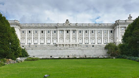 Detailed view of royal palace Royalty Free Stock Photo
