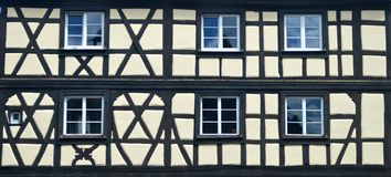 Detailed View of Timber Architecture Royalty Free Stock Photos