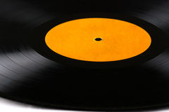 Detailed vinyl LP close up background Royalty Free Stock Images