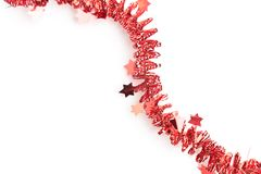 Detailed wide christmas garland xmas border with fir branches is Royalty Free Stock Photo