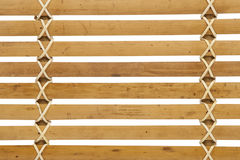 Detailed wooden louver pattern Royalty Free Stock Images