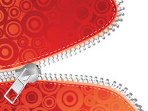 Detailed zipper Stock Photo
