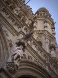 Detailes góticos da arquitetura Fotografia de Stock Royalty Free