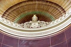 Detailin il Alte il vecchio museo del National Gallery sull'isola di museo in Berlin Germany fotografia stock libera da diritti