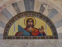 Detailkirche Cagliari Stockfoto