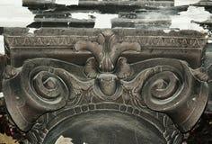 Detaill arquitectónico en la iglesia Imagen de archivo libre de regalías