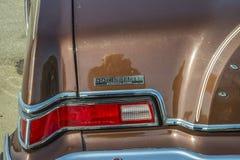 1976 detailleert Lincoln Continental Mark IV, linker achterindicatoren Royalty-vrije Stock Afbeeldingen