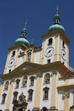 Detailo of basilica minor church in Olomouc Stock Images