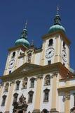 Detailo della chiesa secondaria della basilica in Olomouc Immagini Stock