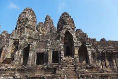 Detail of Angkor Wat temple Royalty Free Stock Images
