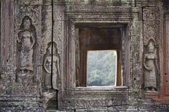 Detail of Angkor Wat temple Stock Photo