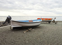 detailof two boats Royalty Free Stock Photography
