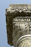 Details. Art at Philippi, Kavala, North Greece stock photo