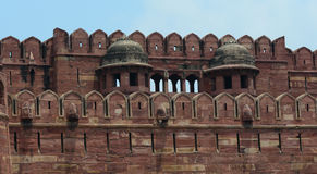 Details of Agra Fort in India Stock Photo