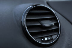 Details of air conditioning in modern car Royalty Free Stock Photography