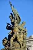 Details of Altair of the Fatherland, Rome Italy Stock Image