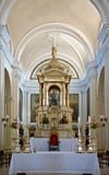 Details of altar in cathedral Royalty Free Stock Images