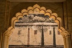 Details of Amber fort palace Royalty Free Stock Photo