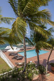Details from American & Caribbean Luxury Private Villa. Cottages or Resorts stock photo