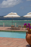 Details from American & Caribbean Luxury Private Villa. Cottages or Resorts royalty free stock images
