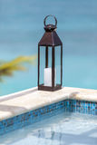 Details from American & Caribbean Luxury Private Villa. Cottages or Resorts stock images