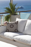 Details from American & Caribbean Luxury Private Villa. Cottages or Resorts stock image