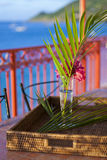 Details from American & Caribbean Luxury Private Villa. Cottages or Resorts royalty free stock photos