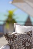 Details from American & Caribbean Luxury Private Villa. Cottages or Resorts royalty free stock photo