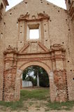 Details ancient church ruins Stock Photography