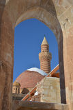 Details of ancient Ishak Pasha Palace Royalty Free Stock Images