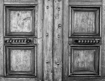 Details of an ancient Italian door. Stock Photography