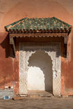 Details of arabian architecture Stock Photography