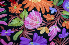Details of arabic textile Stock Images