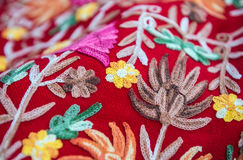 Details of arabic textile Stock Photos