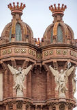 Details of Arc de Triomf in Barcelona Stock Images