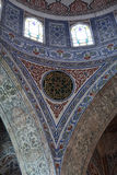 Details arch of Blue mosque. Istanbul, Turkey Royalty Free Stock Photography