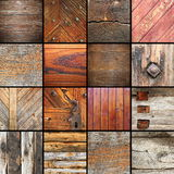 Details on architectural wooden elements Stock Photography