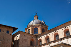 Details architecture of city. Cathedral Italy Stock Photo