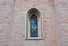 Details architecture of city Senigallia. Cathedral Stock Photos