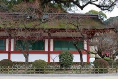 The details of architecture of Dazaifu Tenmangu, in Fukuoka, royalty free stock image