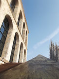 Details architecture milan beauty city Stock Images