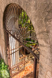 Details in architecture, Tlaquepaque in Sedona, Arizona Royalty Free Stock Photo
