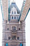 Details of architecture of Tower bridge, London, UK Stock Photo