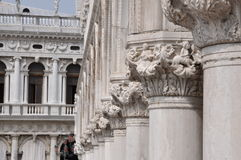 Details of architecture of Venice Stock Image