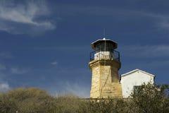 Details Architektur der im Freien eines alten Leuchtturmes von Zypern Stockbilder