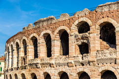 Details of Arena di Verona Stock Image