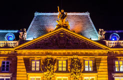 Details of Aubette, a historical building on Place Kleber in Str Royalty Free Stock Photography