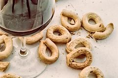 Details of bagel Royalty Free Stock Images