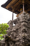 Details of Balinese shrine. Royalty Free Stock Images
