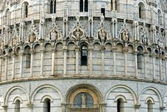 Details of The Baptistry of St. Royalty Free Stock Photos